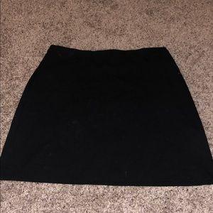 Black professional skirt